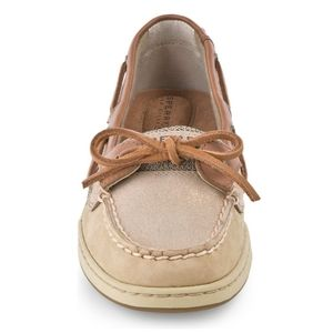 Sperry Angelfish Sparkle Suede Sparkle Boat Shoe